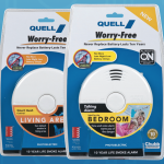 Quell's new Worry-Free smoke detector has a 10-year battery onboard
