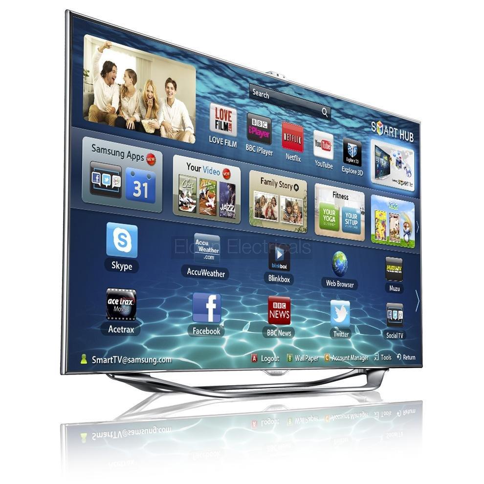 samsung led series 8 es8000 smart tv review. Black Bedroom Furniture Sets. Home Design Ideas