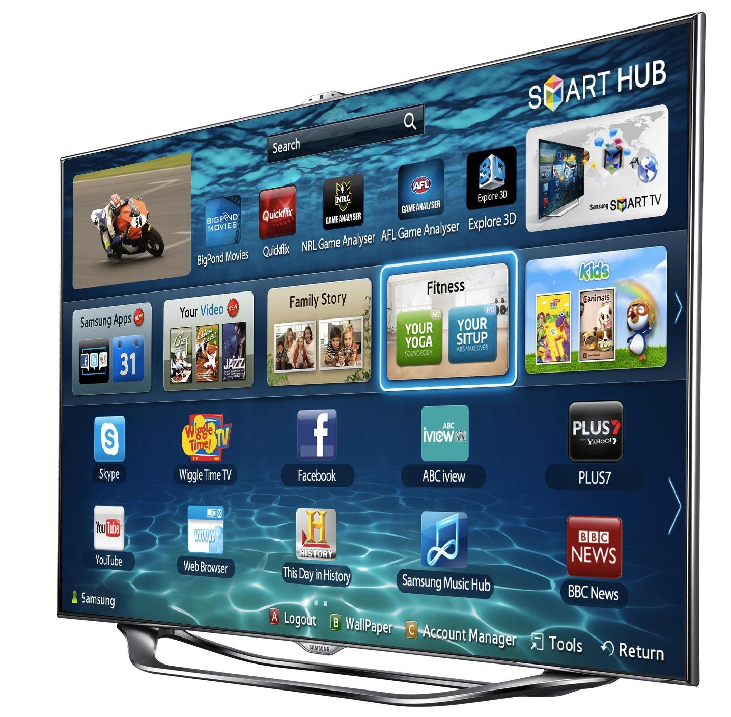 Samsung releases 2012 range of smart TVs