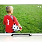 Sharp releases new bigger screen LCD televisions