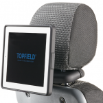 Topfield iPad in-car mount takes your entertainment on the road