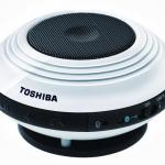 Toshiba's mini Bluetooth speakers can fit in your pocket