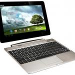 Asus Transformer Pad Infinity TF700T is a tablet and a laptop