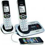 Uniden XDECT 6135BTU cordless phone can answer your mobile too