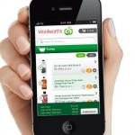 Woolworths app lets you shop from your mobile