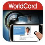 WorldCard Mobile scans business cards into iPhone